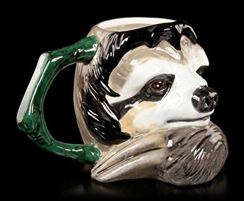 Faultier Tasse – lustiges Geschenk für faule Kollegen – Keramik Kaffeetasse