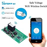 Best Smart Home Devices - Sonoff SV: WiFi Wireless Switch Smart Home Module Review
