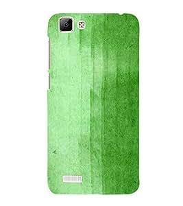 Green Old Wall Paint 3D Hard Polycarbonate Designer Back Case Cover for VIVO V1