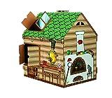 playtoyz XL GIOCO CASA FIABA casa casetta per bambini in legno casa cameretta casa giocattolo