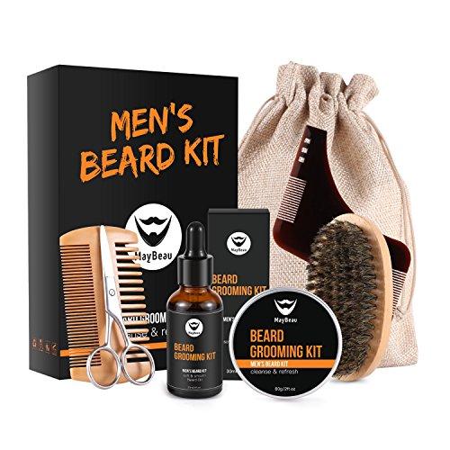 MayBeau - hochwertiges Bartpflege-Set