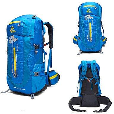 SUNNY KEY-Zaini casual@50 L Zainetti da alpinismo Ciclismo Backpack Zainetti Campeggio e hiking Attività ricreative Viaggi AlpinismoCampeggio e hiking Antivento , red blue