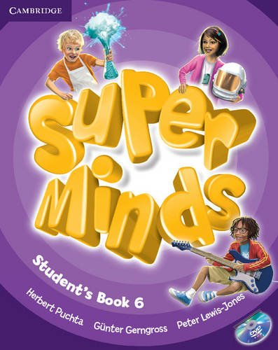 Super minds level 6 student's book with dvd - rom (book & dvd rom)