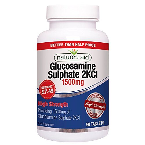 Natures Aid Glucosamine Sulphate 1500mg (High Strength) 90 Tabs