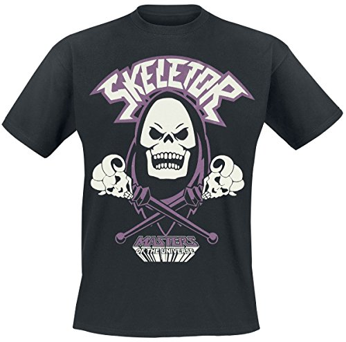 Masters of the Universe Skeletor Camiseta Negro XXL