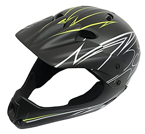 SAVAGE BMX HELMET. FULL FACE MATT FINISH 54-58CM. by Savage