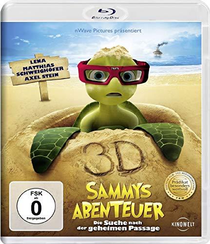 Sammys Abenteuer - Die Suche nach der geheimen Passage [3D Blu-ray]