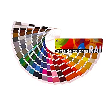 Carta de colores RAL Estándar, NCS INDEX 1950, NCS Moodscapes y ASF Especial Exteriores (RAL Estándar) Envío GRATIS