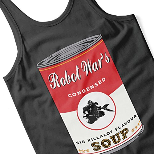 Robot Wars Sir Killalot Soup Warhol Men's Vest Black