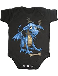 Spiral Babystrampler Pet Dragon Gr.M / 6-9 Monate