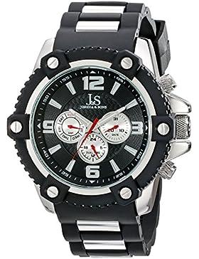 Joshua & Sons Herren-Armbanduhr Analog Quarz JS94SSB