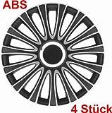 Universal Radzierblende schwarz/silber 15 Zoll für viele Fahrzeuge passend