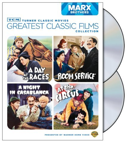 TCM Greatest Classic Films Collection: Marx Brothers (A Day at the Races / A Night in Casablanca / Room Service / At the Circus) by Groucho Marx