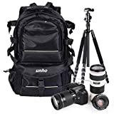 Malayas Large Camera Backback Ruchsack Waterproof DSLR Case Tripod Bag For Canon Nikon Sony Samsung Fujifilm Olympus Pentax