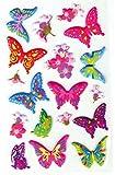 Bestlivings lustige und Niedliche Sticker zum Aufkleben, Stickerbögen mit Tieren, in vielen verschiedenen Motiven verfügbar (Design: Schmetterlinge 1)
