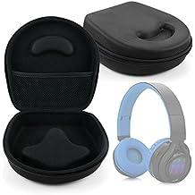DURAGADGET Estuche / Carcasa Para Auriculares Philips SHB3060WT/00 / Sennheiser GSP 350 / Excelvan BT9916 - En Color Negro - Diseño Ergonómico - Alta Calidad