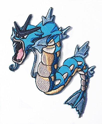 Aufnäher/-bügler in der Form von Gyarados aus dem Pokemon-Cartoon
