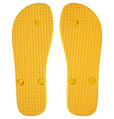 DC Shoes Herren Spray Zehentrenner Gold