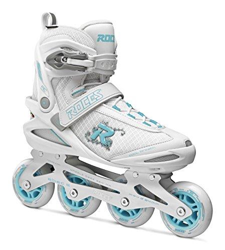 Roces Damen PIC Inline Skates, White/Azure, 39