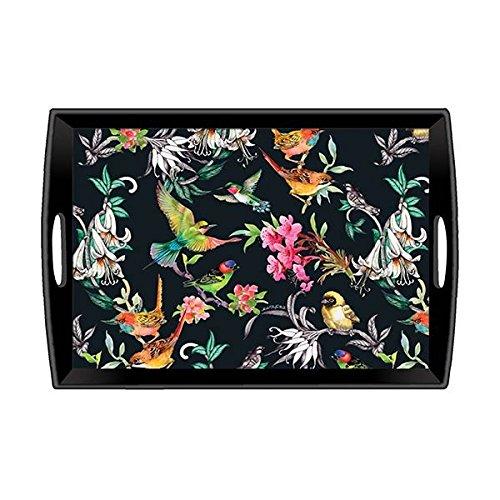 Michel Design Works Dekoratives Tablett, Bird song, Multi Color, 50,8x 34,9cm