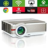 EUG LED LCD Wireless Projectors HD 1080p Support Wifi Home Cinema Projector 4200
