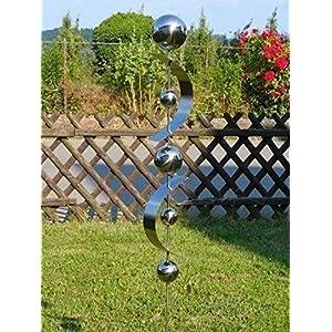 Edelstahlstele Design Nr.20 Gartenstecker aus Edelstahl