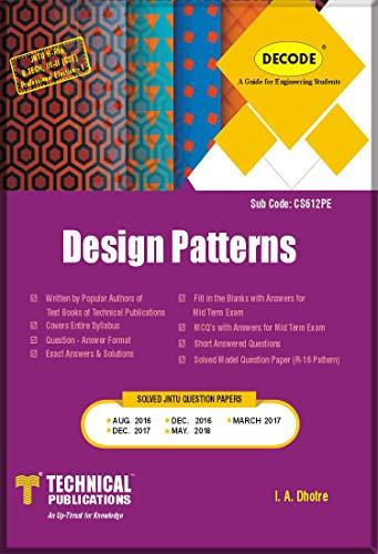 DECODE-Design Patterns for JNTU-H R-16 (B.TECH. III-II CSE)