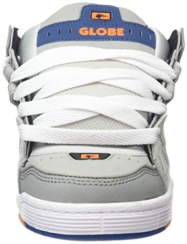 Globe Sabre, Chaussures de skate homme Gris (Gris/bleu)