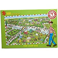 Where's Wally 100-Piece Puzzle Campsite