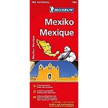 Michelin Mexiko: Straßen- und Tourismuskarte 1:1.250.000 (MICHELIN Nationalkarten)