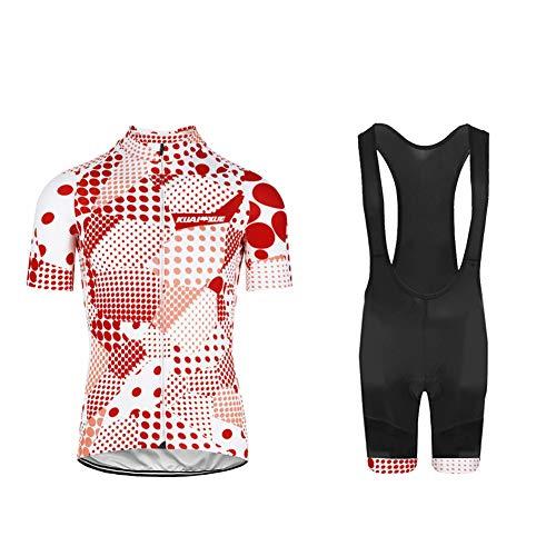 Uglyfrog Männer Fahrrad-Club Cycling Team Bekleidung Jersey Shirts Kurze Hosen Set Sportbekleidung