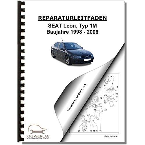 SEAT Leon Typ 1M (98-06) Heizung, Belüftung, Klimaanlage - Reparaturanleitung - Seat Klimaanlage