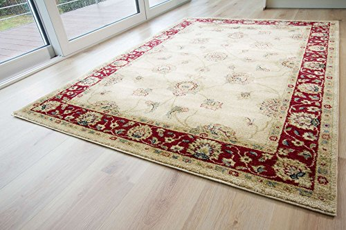 Designer-Teppich-Modern-Dschaipur-in-Beige-GUT-Siegel-Zertifiziert-Gre-80x150-cm
