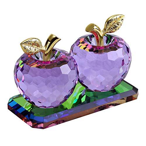 shovv Dekoartikel Ornamente Auto Dekoration Kristall Apfel Parfüm Sitz Weiblichen Auto High-End Dekorative Lieferungen Sicherheit Autozubehör