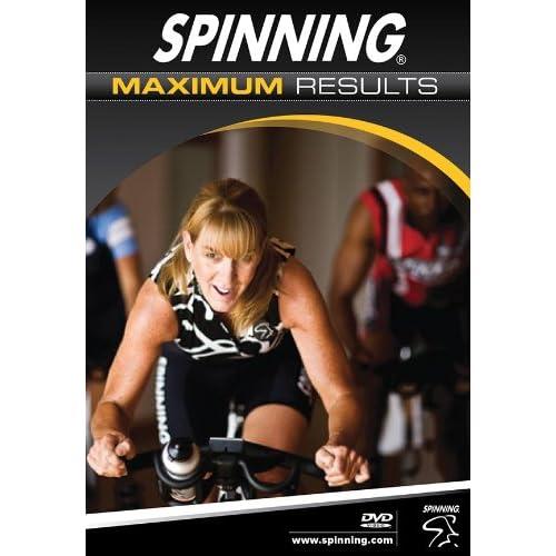 51lRcU BgoL. SS500  - Spinning Maximum Results Indoor Cycling DVD - Multicoloured