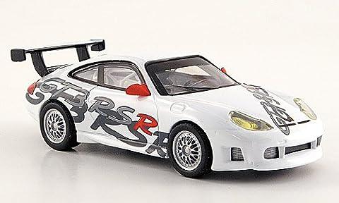Porsche 911 GT 3 RSR, blanche, 2000, Model Car, Miniature