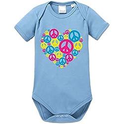 Body bebé Love Peace by Shirtcity