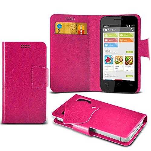 (Hot Pink) Vodafone Smart Mini 4 Mega sottile Protezione in