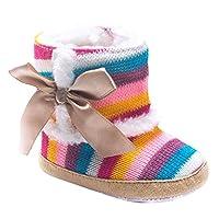 Caratteristiche:  100% nuovissimo con grande qualita  Questa scarpa e molto bella e alla moda  Vestito di formato per il bambino 0-18 mesi  Le scarpe sono molto carino e si puo tenere i piedi del bambino morbido e caldo  Dimensione----- Consi...