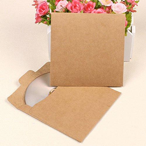 Preisvergleich Produktbild Pingenaneer 30 Stück Papierhüllen CD / DVD ohen Kratzer, Staub und Fingerabdrücken …