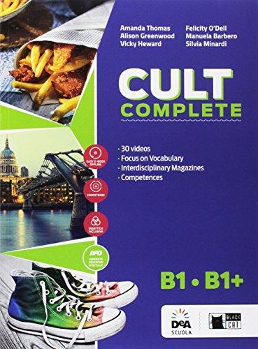 Cult complete. B1-B1+. Student's book-Workbook-Entry book-Preliminary. Per le Scuole superiori. Con e-book. Con espansione online. Con DVD-ROM
