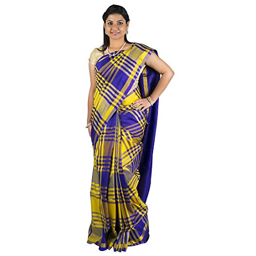 Abhisilks Multicolor Handloom Uppada Soft Pattu Saree for Women