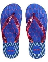 Azotic Men's Blue Rabber Slip-On Slipper