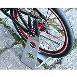 INION MHBS03 - Fahrradständer Fahrradhalter Fahrradparkplatz Ständer Fahrrad Bike Halterung Bodenständer mit gummierte Aufnahme/chiavi