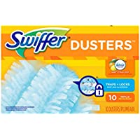 Swiffer Dusters Disposable Cleaning Dusters Refill - Sweet Citrus and Zest - 10 ct by (Disposable Refill)