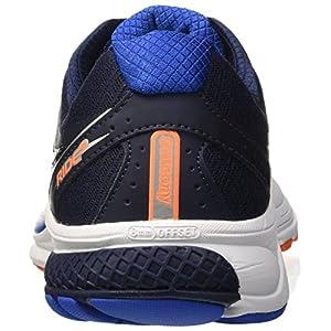 Saucony Ride 9, Zapatillas de Running para Hombre, Azul (Grey/Blue / Orange), 43 EU