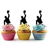 Water Polo Kuchenaufsätze Hochzeit Geburtsta Acryl Dekor Cupcake Kuchen Topper