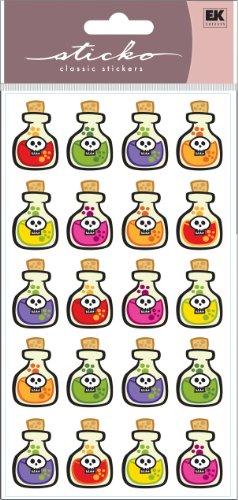 EK Success Sticko Aufkleber Halloween Trank Flaschen (Trank-flaschen)
