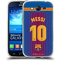 Official FC Barcelona Messi 2017/18 Players Home Kit Group 1 Soft Gel Case for Samsung Galaxy Grand Neo