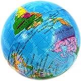 VANKER Globe Terrestre Boule de Carte du Monde Géographie Jouet éducatif pour Enfants